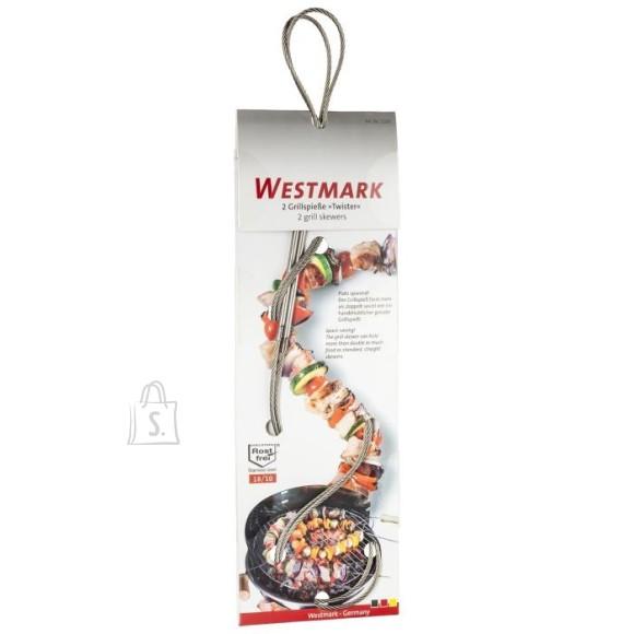 Westmark Painduvad roostevabast traadist grillimisvardad, 2tk, aitavad kogu grillimispinna ära kasutada