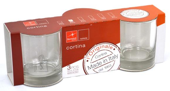 Bormioli Cortina madal klaas 25cl 3tk. C3K6 /420