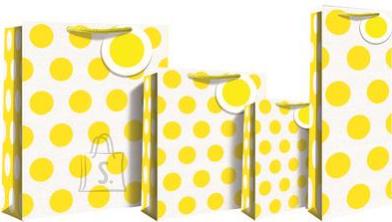 Eurowrap parfüümi kinkekott Yellow Neon