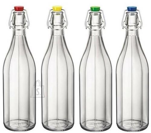 Bormioli Pudel Oxford 100cl 4 eri värvi korgiga  F12 T-Ass