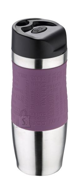 Bergner Termokruus 400ml rv Purple-silikoonkattega, kinkekarbis