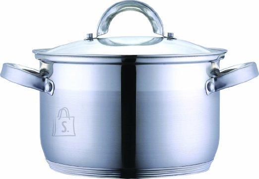 Renberg Pott 3,6L 20x12,5cm Alexander, roostevaba, klaaskaanega, induktsioon /4