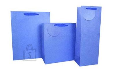 Eurowrap Pudeli kinkekott Blue Glimmer