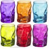 Bormioli Sorgente klaas 30cl DB24 6 värvi. Pilt on illustratiivne.