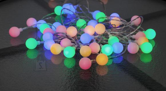 """Star Valguskett """"Marjad"""". 50 värvilist LED tuld,pikkus 7,35m IP44"""
