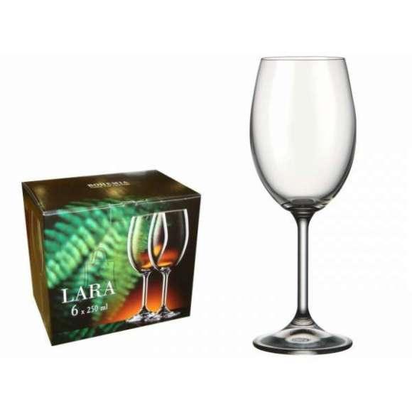 Bohemia Veini pokaalid Lara Classic 6tk, 250 ml