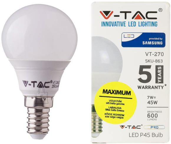 V-Tac LED lamp E14/7W/600lm/Globe