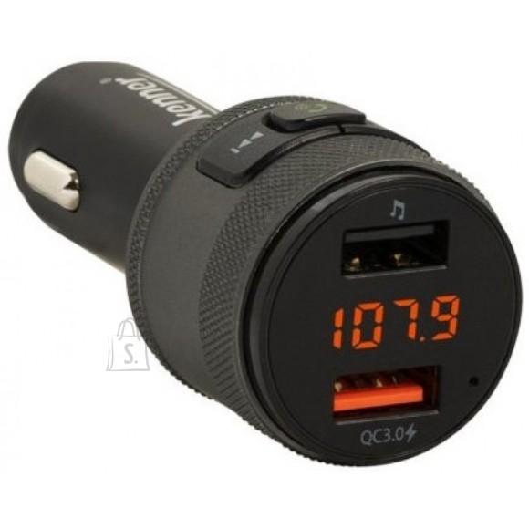Kenner FM-transmitter Bluetooth, Hands-Free, USB