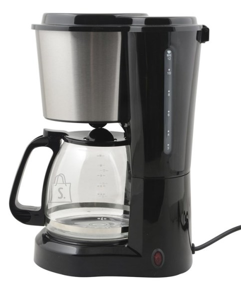 Day Kohvimasin Day 900W 1,5L, must/metallik EOL