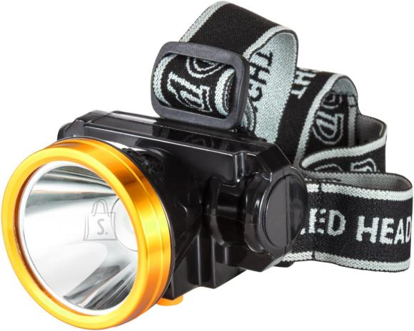 DP LED pealamp akuga, 3W Highpower