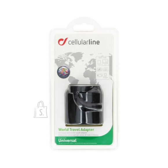 Cellularline Cellular reisi vooluadapter (Euro,AUS,UK,USA)