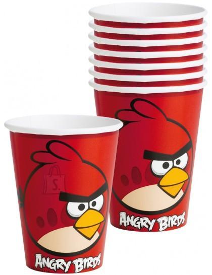 Amscan Angry Birds Joogitopsid Angry Birds 266ml 8tk/pk