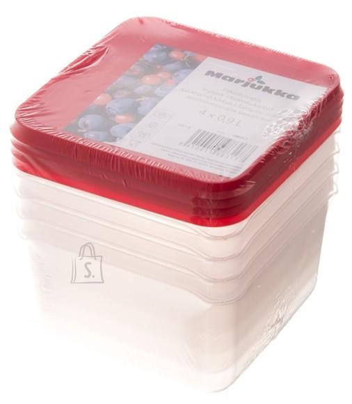 Marjukka Marjukka külmikukarp 0,9L 4tk