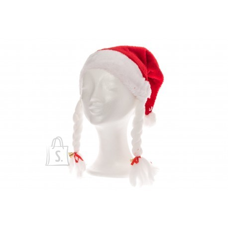 Tammer Päkapikumüts Luxus punupatside- ja kellukesega
