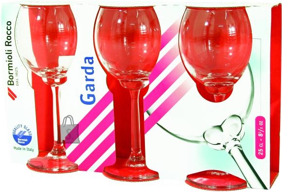 Bormioli Pokaalid / klaasid 3tk kompl, mix