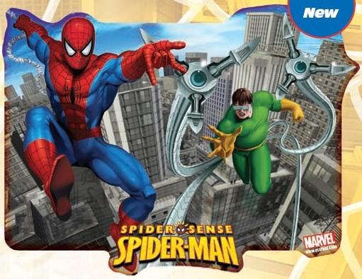 Stor lauamatt Spiderman