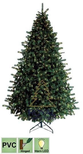 Royal Christmas Tehiskuusk Utah Premium 1050 soe-valge LED tuld 360cm d. 190cm, 4700tippu