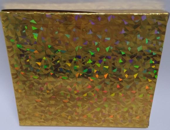 Eurowrap CD kinkekarbid 3tk kuldne (13x15x1,3cm)
