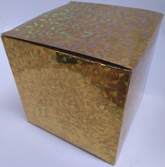 Eurowrap kinkekarbid 15,2x15,2x15,2cm 2tk. kuldne 12/72