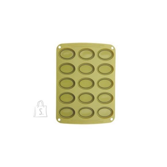 Bergner Küpsetusvorm silikoonist, Barquette Pan x 15