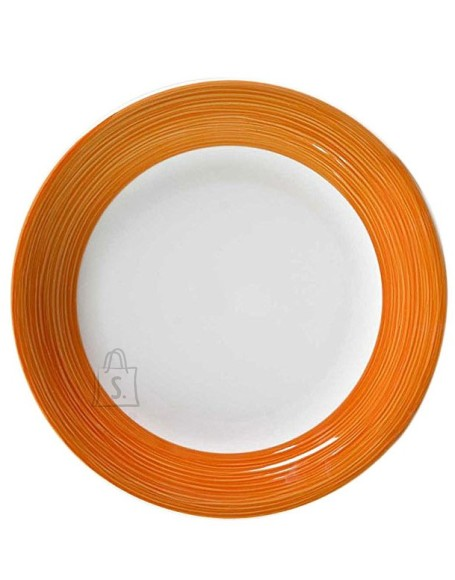 Bergner Desserttaldrik 20cm Orange Graffiti