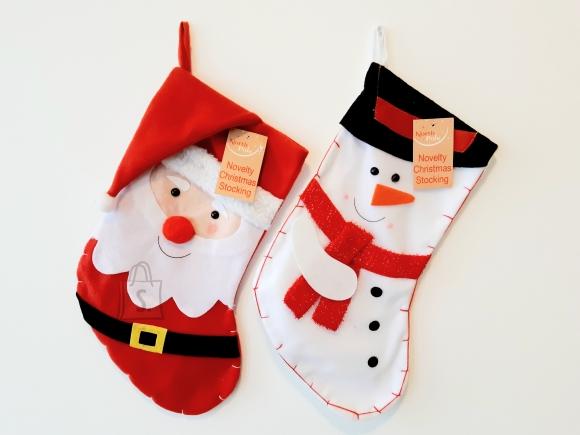Eurowrap Jõulusokk Santa/Lumememm 12/48