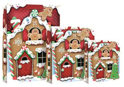 Eurowrap M kinkekott GingerbreadHouse