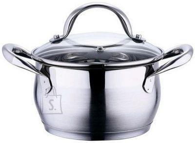 Bergner *BG-6309 Pott Gourmet 1,7L d.16cm, h 9,5cm /4 18/10 SS