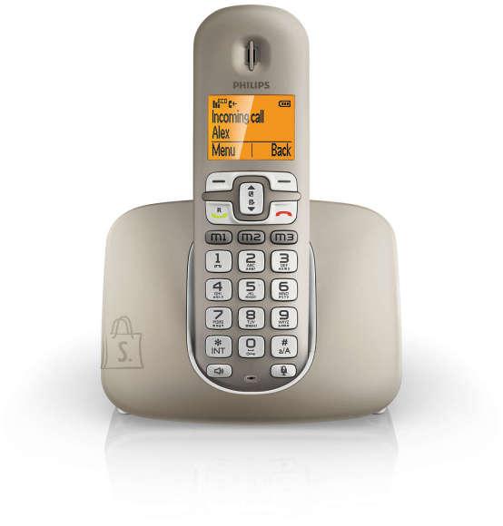 Philips Philips XL3901 juhtmevaba telefon vaegnägijale,-kuuljale, hõbedane EOL