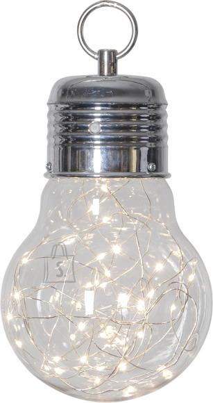 Star Dekoratsioon Bulby valge, 30 LED, patareitoide, sisetingimustesse, IP20