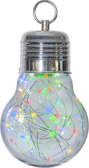 Star Dekoratsioon Bulby värviline, 30 LED, patareitoide, sisetingimustesse, IP21
