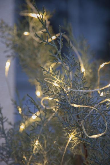 """Star Valguskett """"Kastetilgad"""" 200 LED soe valge, pikkus 20m, sise/välis, IP 44"""