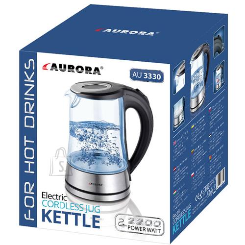Aurora Veekeetja klaaskannuga 1,7L 2200W