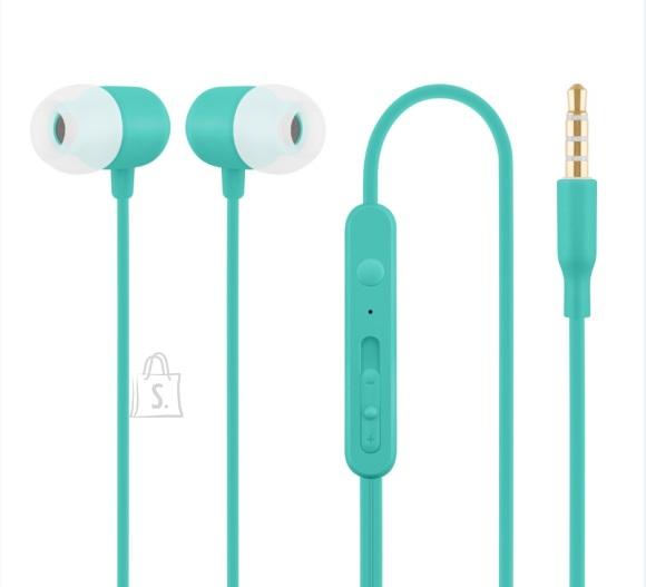 ACME Nööpkõrvaklapid mikrofoniga HE21, sinine