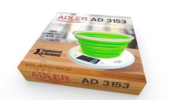Adler Adler köögikaal nõuga AD3153 max 5kg, roheline