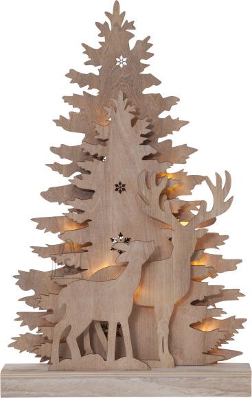 Star Lauadekoratsioon Fauna Natural, 10 LED, patareitoide, sisetingimustesse, IP20