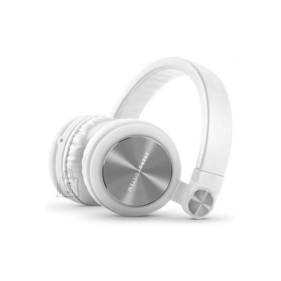 Energy Sistem Kõrvaklapid kokkupandav DJ2, valge