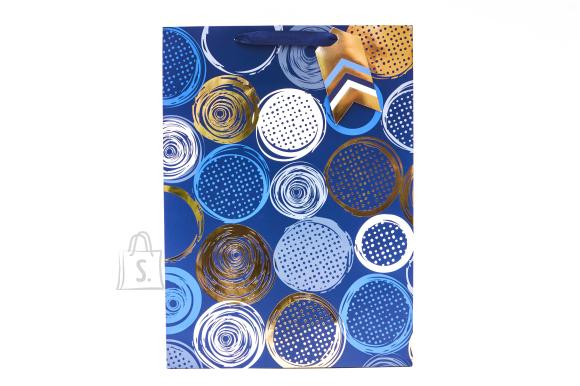 Eurowrap Parfüümi kinkekott BRONZE CIRCLES pronksjad rõngad