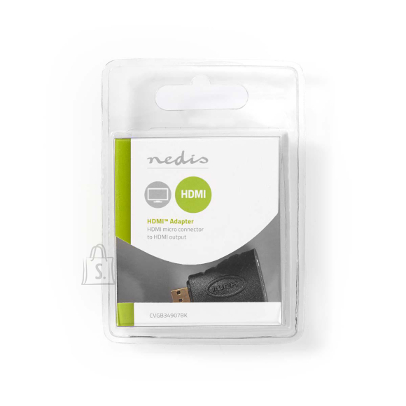 Nedis Adapter HDMI F - micro HDMI M, must
