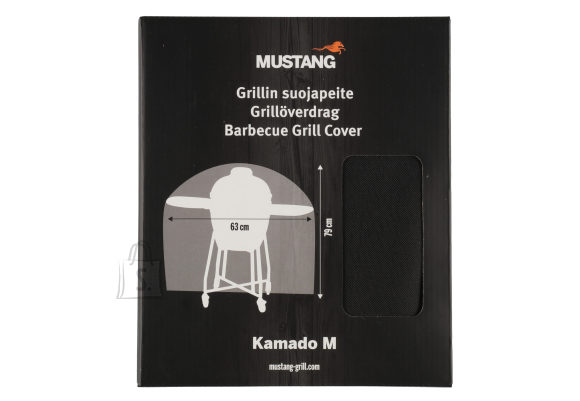 "Mustang Kate Mustang Kamado 18"" grillile, d. 63cm x79cm, polüestertekstiil PVC-kiletatud, UV-kaitstud"
