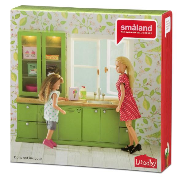 Micki nukumaja Småland köök roheline + nõudepseumasin