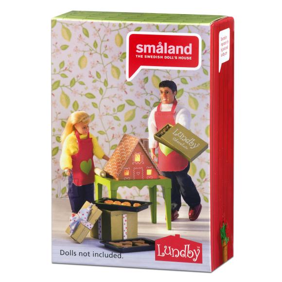 Micki nukumaja Småland piparkoogi komplekt