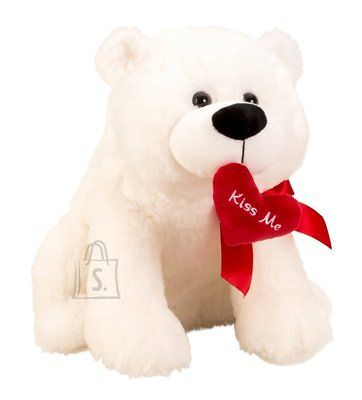 IKO Jääkaru, punase südamega Kiss Me, 40cm