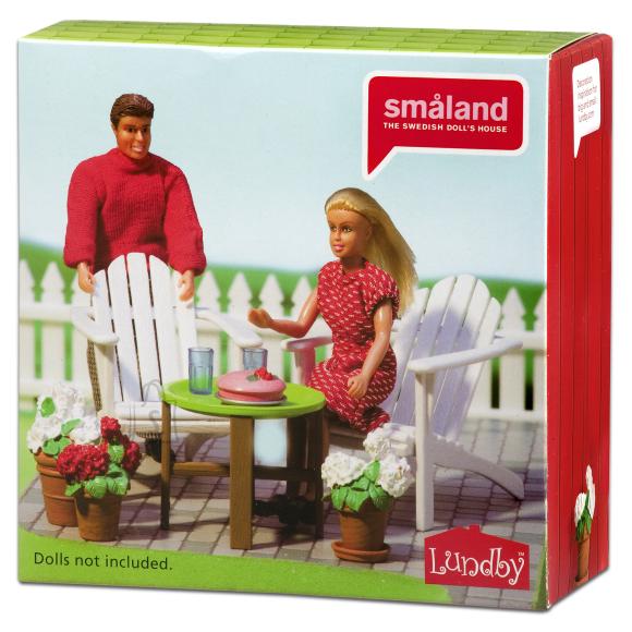 Micki nukumaja Småland aiamööbel