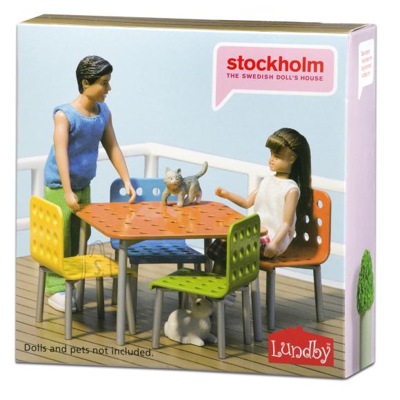 Micki nukumaja terassi mööbel Stockholm