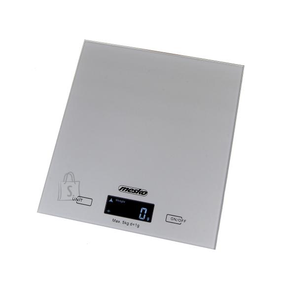 Mesko Köögikaal digitaalne, max 5kg, hõbedane