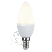 Star LED Lamp E14 ,4.8 W = 38W, C37 (küünal), 3000K, 440LM 10/100