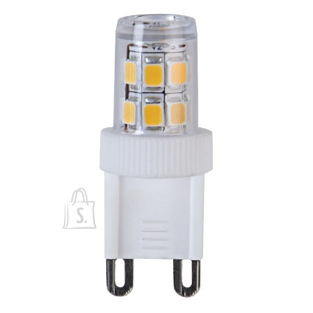 Star LED Lamp G9,230V,Halo-LED, 3,5W=30W, 2700K, 230LM 10/100