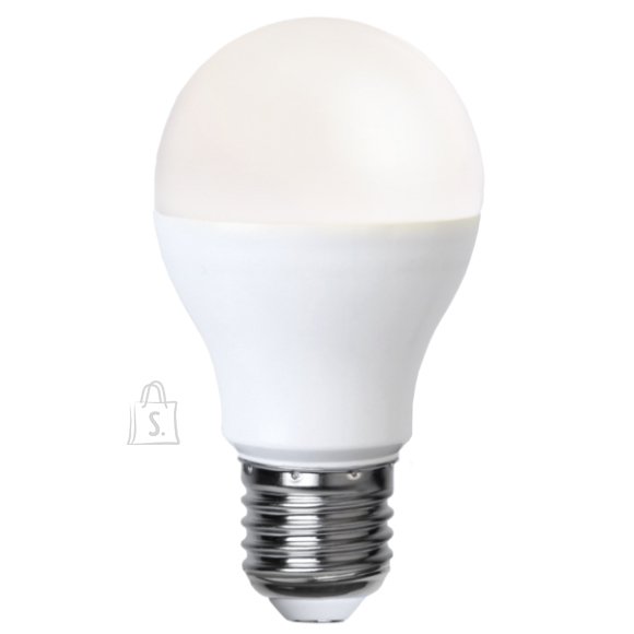 Star LED Lamp E27, 9W= 60W, A60,3000K, 800LM 10/100