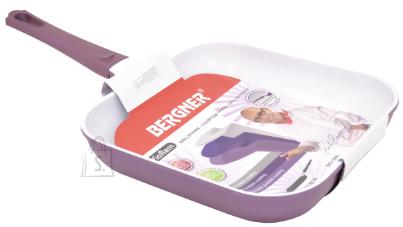 Bergner Grillpann Vioflam 28x28x5,6cm  purple (valualumiinium keraamilise kattega)
